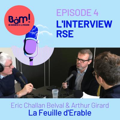 #4 L'Interview RSE– La Feuille d'Erable, responsable et pas que sur le papier! cover