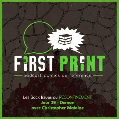 Les Back Issues du Reconfinement - Jour 19 : Demon, avec Christopher Maloine cover