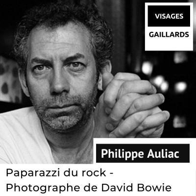 Philippe Auliac - Paparazzi du rock - Photographe de David Bowie cover