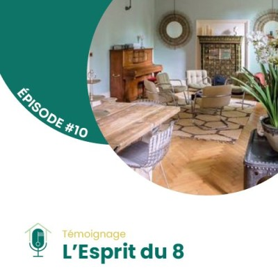 #10 - Rencontre avec Sandrine Gravier de L'Esprit du 8 cover