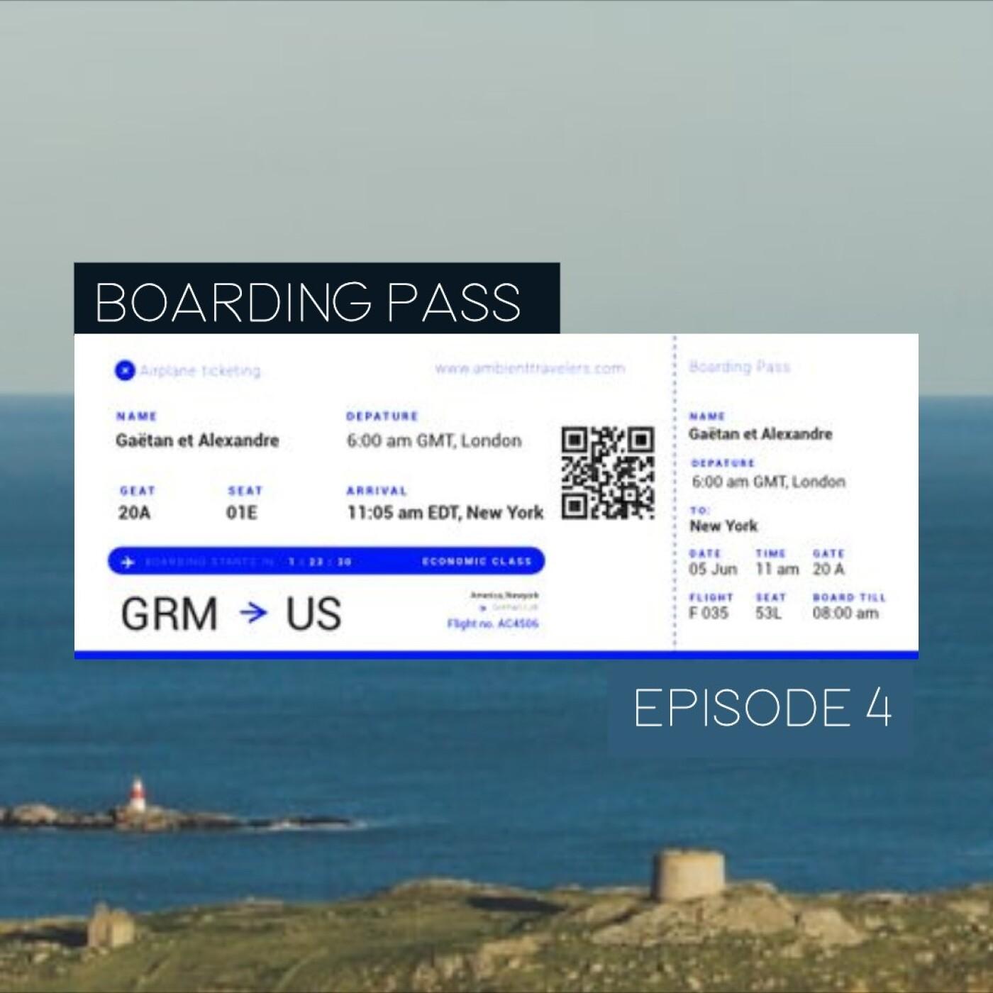 Boarding Pass 004 ✈️ Aphex Twin et Florigenix
