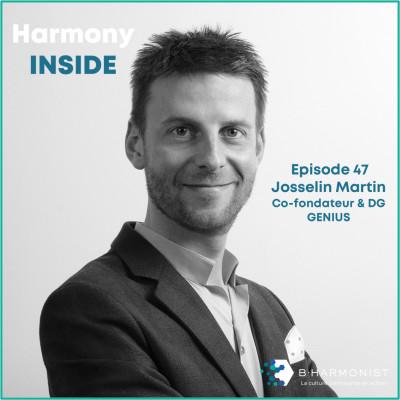 """#47 Josselin Martin, Genius : """"La culture fixe un cap à tous les niveaux"""" cover"""