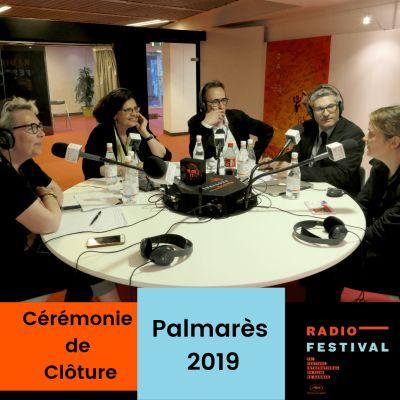La Cérémonie de clôture et le Palmarès 2019 - 25 mai 2019 cover