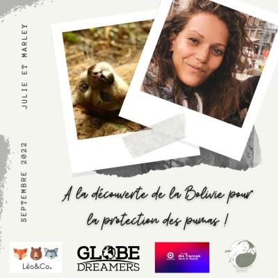 Julie œuvre au sauvetage et aux soins des animaux en Bolovie - 21 10 2021 cover