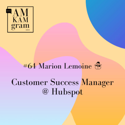 Episode 64 : Marion, Customer Success Manager chez Hubspot cover