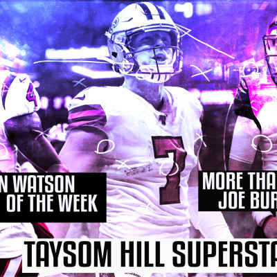 HYPEPODCAST #EP 58  NFL WEEK 11 :  TAYSOM HILL SUPERSTAR cover