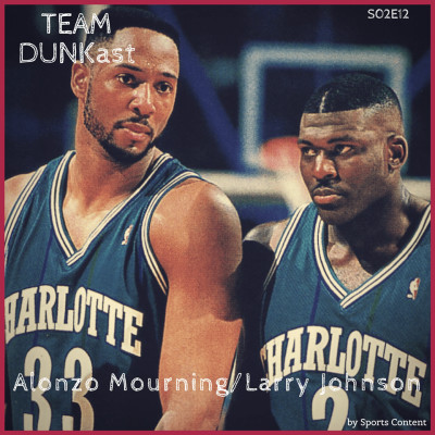 Alonzo Mourning / Larry Johnson cover