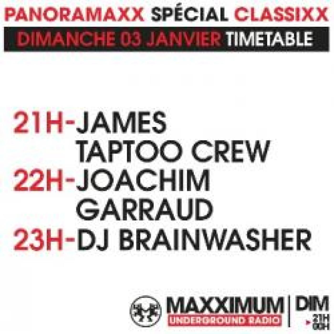 PANORAMAXX CLASSIXX : JAMES TAPTOO CREW