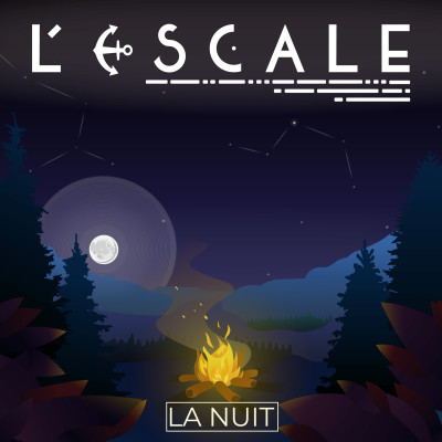 L'Escale #8 - La Nuit cover