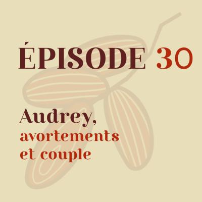 Audrey, avortements et couple cover