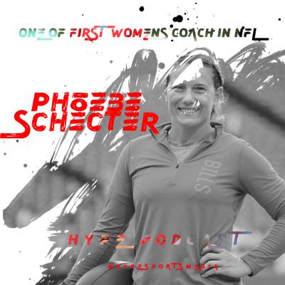 PHOEBE SCHECTER, PIONNIERE EN NFL cover