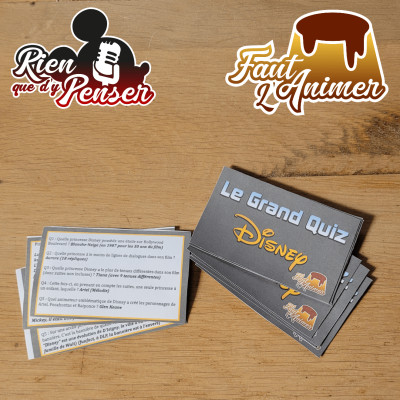 Le Grand Quiz Disney cover