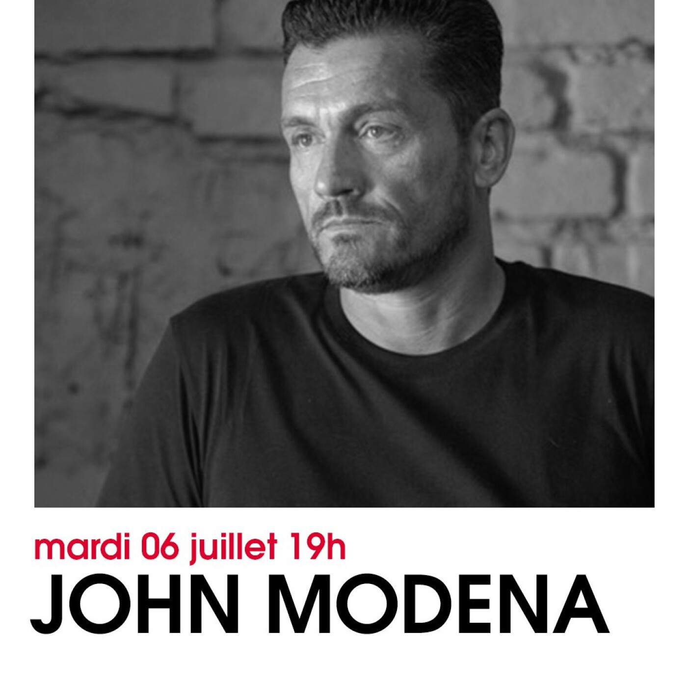 HAPPY HOUR DJ : JOHN MODENA