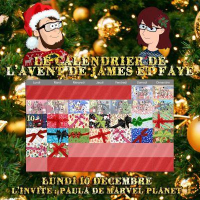 Calendrier de l'avent 10 décembre Paula de Marvel Planet cover