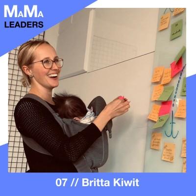 07. Britta Kiwit über elternfreundliche Arbeitswelten und was sich dafür ändern muss cover