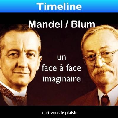 image Blum / Mandel, un face à face imaginaire ?