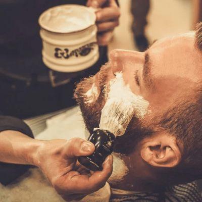 Men's shave & Turkish massage
