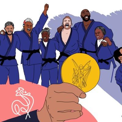Jeux Olympiques 2020 - La semaine dorée du judo français cover