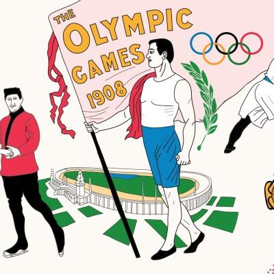 Jeux Olympiques 1908 - Londres cover