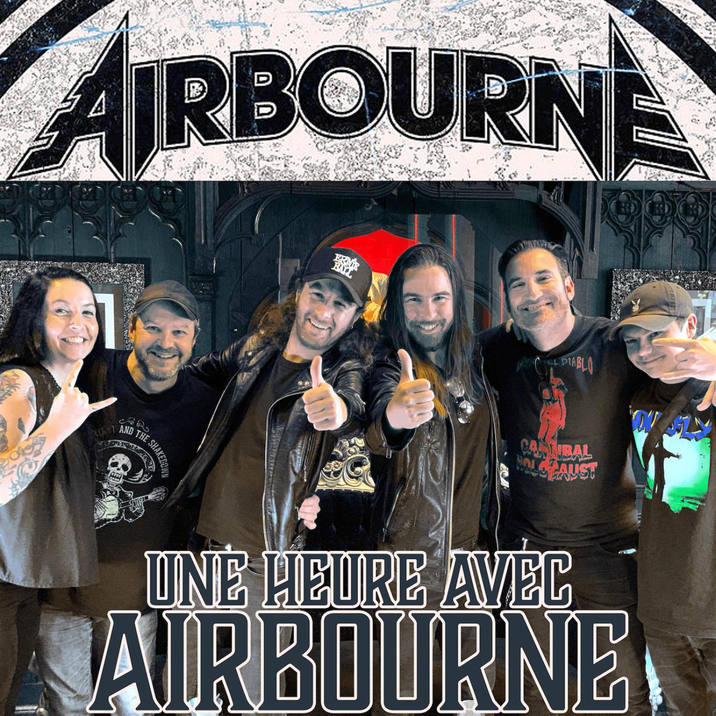 Une heure avec... Airbourne