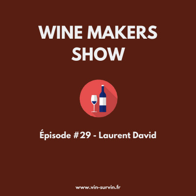 #29 - Laurent David - Château Edmus, Wine Angels et Wine Tech cover