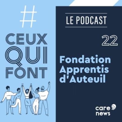 #CeuxQuiFont : Annie Gaborieau, Fondation Apprentis d'Auteuil - Pays de Loire cover