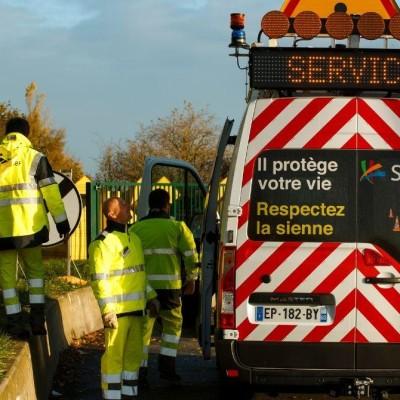 Accident évité sur A4 : un Homme en jaune raconte