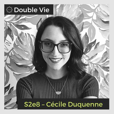 S02e08 — Cécile Duquenne – Autrice et Coach Littéraire cover