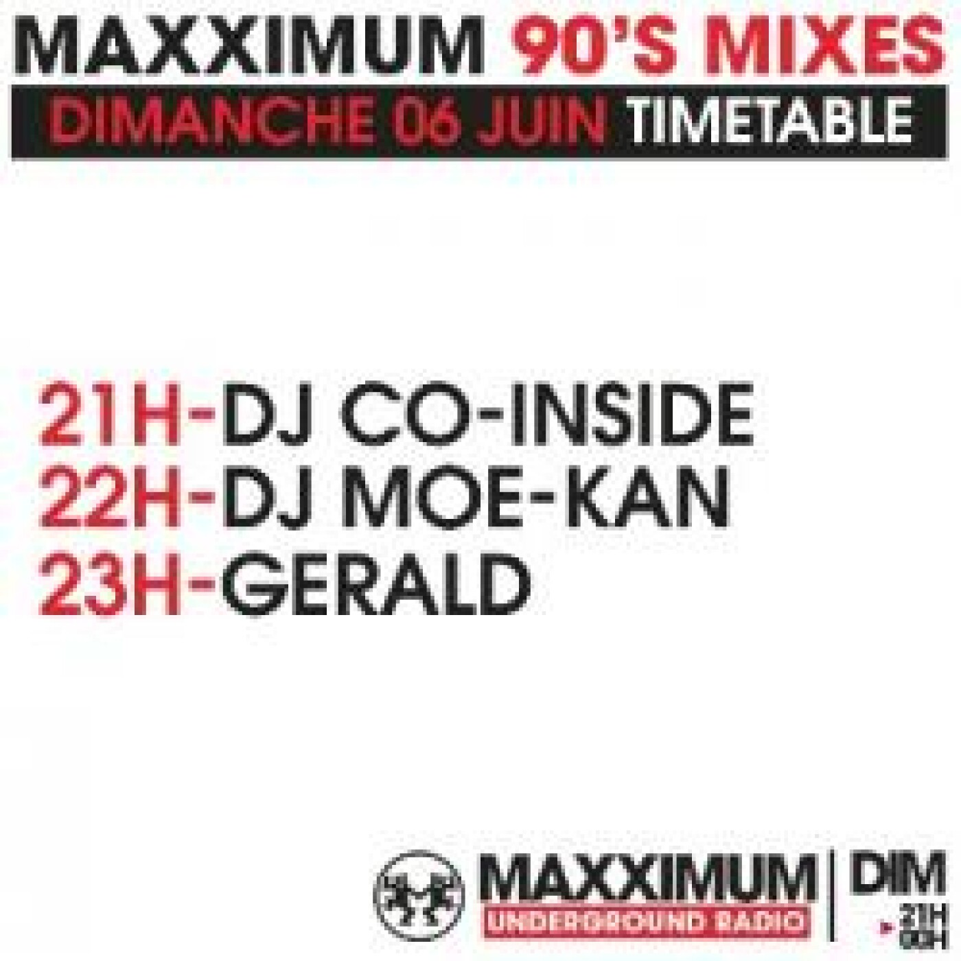 PANORAMAXX 90'S : DJ MOE KAN