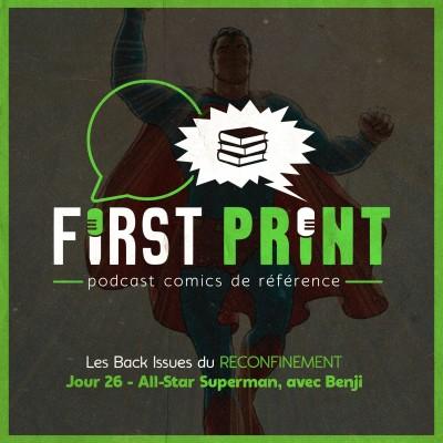 Les Back Issues du Reconfinement - Jour 26 : All-Star Superman, avec Benji cover