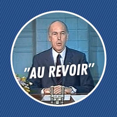 """L'histoire du célèbre """"au revoir"""" de Valéry Giscard d'Estaing cover"""