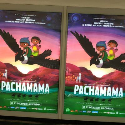 "14 août : Le film d'animation ""Pachamama"" / Les éditions Voce Verso-rediff cover"