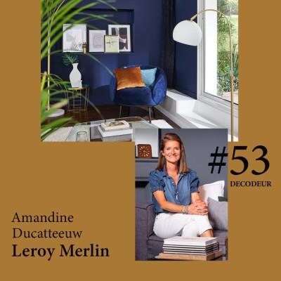 #53 Amandine Ducatteeuw, Directrice du style chez LEROY MERLIN cover