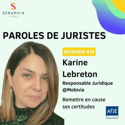#12 - Karine Lebreton - Remettre en cause ses certitudes cover