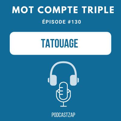 #130 - Tatouage cover