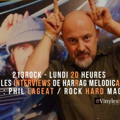image 213Rock 🎧Podcast🎧 Harrag Melodica Itw with Philippe Lageat Rock Hard France 21 10 2019