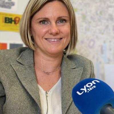 Audrey HENOCQUE, 1ère adjointe EELV au maire de Lyon, en charge des finances cover