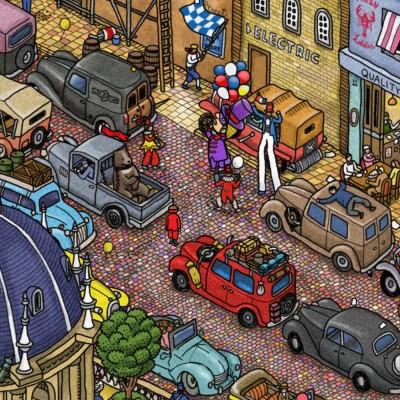 LTTG | Labyrinth City: Pierre the Maze Detective #02 - Les rues en fête cover