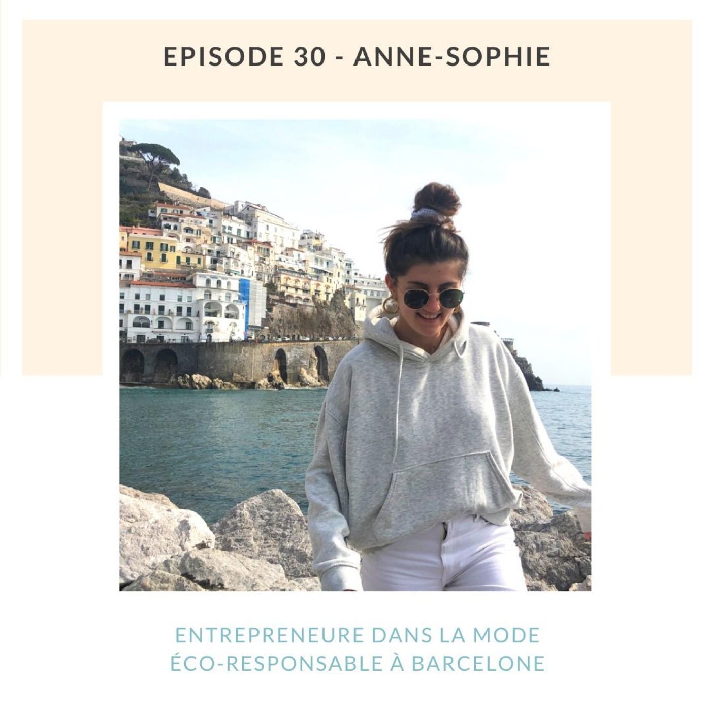 Anne-Sophie   Entrepreneure dans la mode éco-responsable à Barcelone