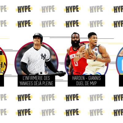 image HypePodcastEpisode13 : Les Yankees, Giannis Vs Harden, Les Penguins de Pittsburgh