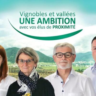 Elections départementales : Monique Martin et Lucien Müller se représentent pour le canton de Wintzenheim cover