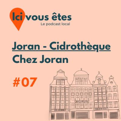 Joran - Cidrothèque, Chez Joran cover