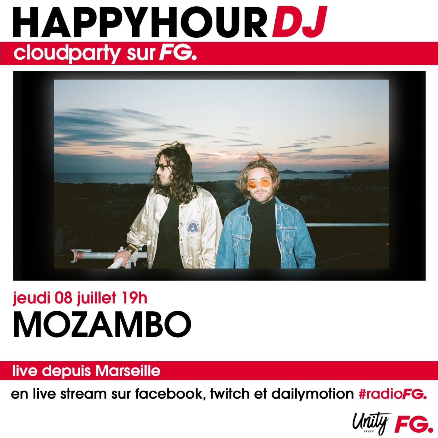 HAPPY HOUR DJ : MOZAMBO