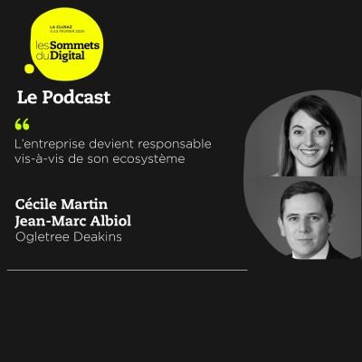 Cover' show Cécile Martin et Jean-Marc Albiol - Un droit du travail mouvementé