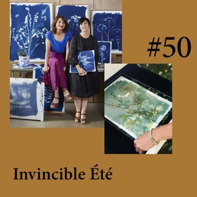"""(REDIFF') """"Invincible Été"""", le cyanotype et les herbiers d'un nouveau genre par Camille Soulayrol et Marie Vendittelli cover"""