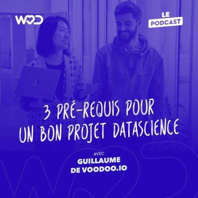 #15 - 3 pré-requis pour un bon projet DataScience avec Guillaume de Voodoo.io cover