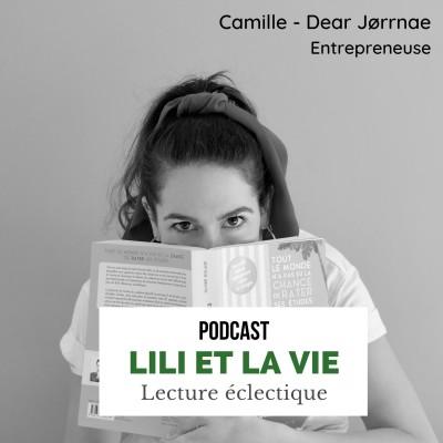 """Camille - Dear Jorrnae Entrepreneuse """"Le livre invite au voyage"""" cover"""