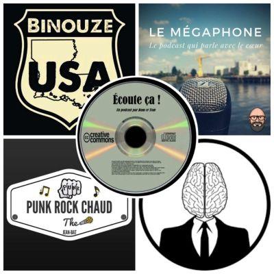 image Ep 32 : Zikdepod 4 ( La Tête Dans Le Cerveau, Punk Rock Chaud, Le Mégaphone, Binouze USA)