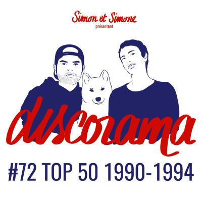 Discorama #72 - TOP 50 1990-1994 cover