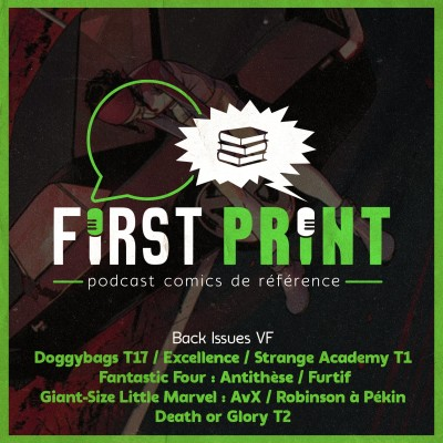 Death or Glory, Doggybags 17, Furtif, Strange Academy - le point sur les dernières lectures comics ! [Back Issues VF] cover